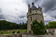 Castle of Chenonceau, Loire region, France. June 27, 2017 snapshot. Stock Photography