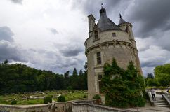 Castle of Chenonceau, Loire region, France. June 27, 2017 snapshot. Stock Image