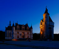 Castle of Chenonceau, Loire Valley, France Royalty Free Stock Photos