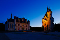 Castle of Chenonceau, Loire Valley, France Stock Photos