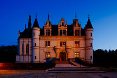 Castle of Chenonceau, Loire Valley, France Stock Image
