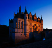 Castle of Chenonceau, Loire Valley, France Royalty Free Stock Images