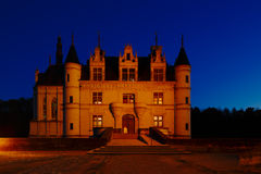 Castle of Chenonceau, Loire Valley, France Stock Images