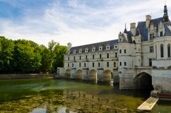 The Castle of Chenonceaux Stock Images