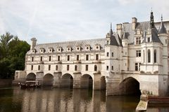 Castle Chenonceaux France Royalty Free Stock Photos