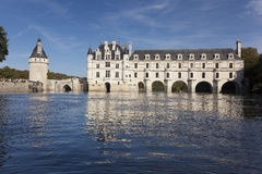 Castle of Chenonceaux Stock Image