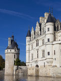 Castle of Chenonceaux Royalty Free Stock Photo