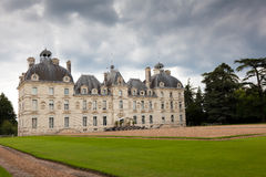 Castle of Cheverny Stock Photos