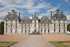 Castle Cheverny France Royalty Free Stock Photography