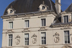 Castle of Cheverny Royalty Free Stock Photos