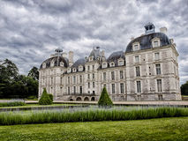 Castle Cheverny in Loire Valley France (HDR Image) Stock Photos