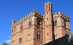 Castle of Chianti, Italy royalty free stock photo