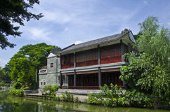 A castle in Litchi Bay of Guangzhou,China. Royalty Free Stock Image