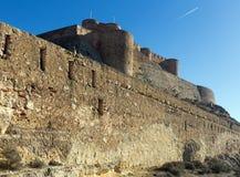 Castle of Chinchilla Stock Photo