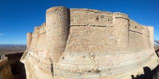 Castle of Chinchilla Stock Image