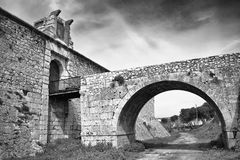 Castle of Chinchon Royalty Free Stock Photos