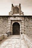 Castle of Chinchon Stock Photo