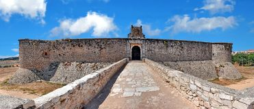 Castle Chinchon in Spain royalty free stock image