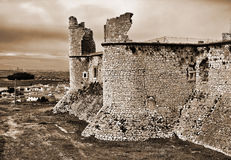 Castle of Chinchon Stock Photography