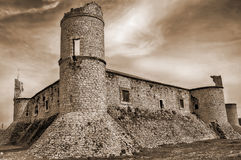 Castle of Chinchon Stock Photos