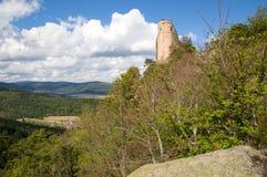 Castle Chojnik, Poland Royalty Free Stock Images