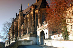 Castle church Altenburg Royalty Free Stock Photo