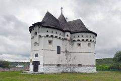 Castle-Church of Pokrova Royalty Free Stock Photography