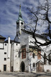Castle Church in Salzburg Royalty Free Stock Photo