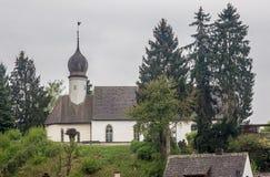 Castle Church Stein am Rhein Switzerland Stock Image