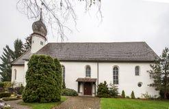 Castle Church Stein am Rhein Switzerland Royalty Free Stock Photo