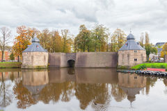 Castle of city Breda, Netherlands Royalty Free Stock Image