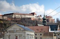 Castle in city Brno , Moravia, Czech republic, Europe royalty free stock photo