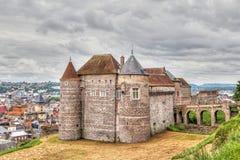 Castle of city Dieppe, Normandy Stock Photo