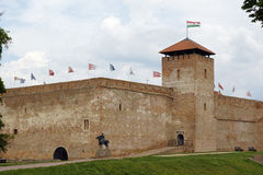 Castle of city Gyula in Hungary Stock Image