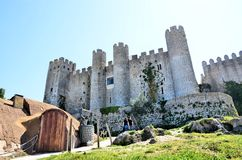 Castle in the city of Obidos Stock Photography
