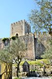Castle in the city of Obidos Royalty Free Stock Photography