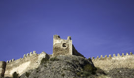 Castle of clavijo Stock Images