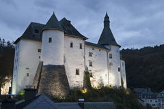 Castle of Clervaux Stock Photo