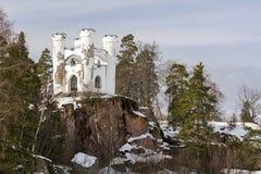 Castle on a cliff Stock Photos
