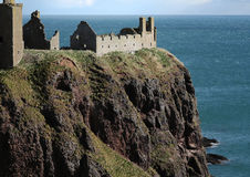 Castle on Cliff Top Stock Photos