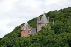 Castle Coch stock photo