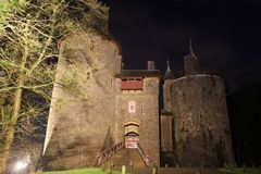 Castle Coch - Cardiff Wales Stock Photos