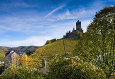 The castle in Cochem. Germany (Rhineland-Palatinate Stock Image