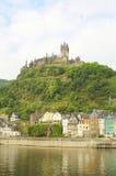 Castle at Cochem Germany Stock Photography