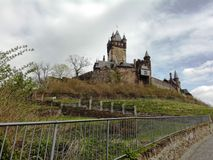 Castle Cochem royalty free stock images
