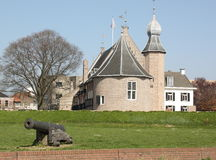Castle of Coevorden royalty free stock image