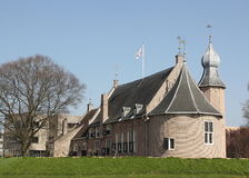 Castle of Coevorden stock images