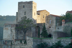 Castle of Collioure Royalty Free Stock Photo