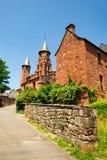 Castle in Collonges la rouge Stock Photography