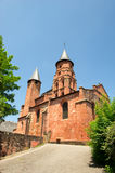 Castle in Collonges la rouge Royalty Free Stock Photo